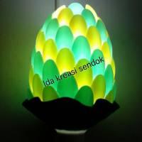 Lampu Sendok Hijau Kuning